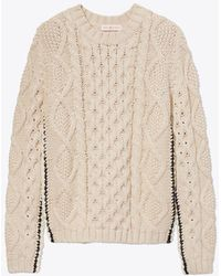 Tory Burch - Isabel Sweater - Lyst