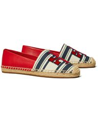 Tory Burch Ines Espadrille - Rot