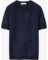 Tory Burch - Channing Sweater - Lyst