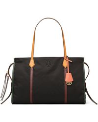 Tory Burch Perry Structured Tote - Black