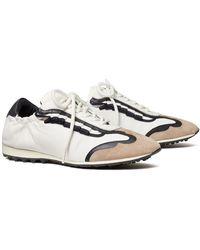 Tory Sport Ruffle Tory Golf Sneaker - White