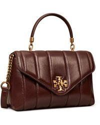 Tory Burch Kira Quilted Small Satchel - Black