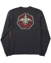 Filson L/s Outfitter Graphic T-shirt Black