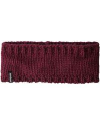 Patagonia Sapka Headband Light Balsamic - Purple