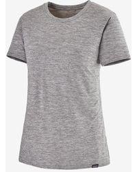 Patagonia Capilene Cool Daily Short-sleeve Shirt - Gray