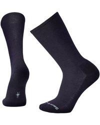 Smartwool - New Classic Rib Socks Deep Navy Heather - Lyst
