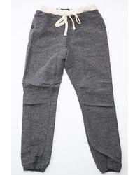 Beams Plus - Gym Slim Nep Pant Charcoal Grey - Lyst