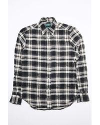 d06b6c7c0a8 Lyst - Gitman Brothers Vintage Utah Triple Yarn Flannel Shirt in Red ...