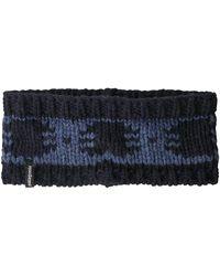 Patagonia Sapka Headband -siphon Band Dolomite Blue