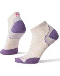 Smartwool Phd® Run Ultra Light Low Cut Socks Moonbeam - Purple