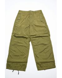 Engineered Garments Over Pant Olive Nylon Micro Ripstop - Green