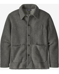 Patagonia Woolie Chore Coat Forge Gray