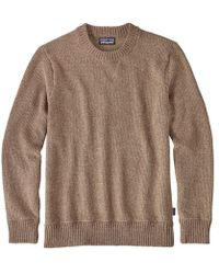 Patagonia | Off Country Crew Neck Sweater | Lyst