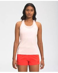 The North Face Women's Wander Tank Pearl Blush Heather - Multicolor