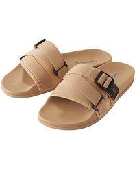 Gramicci Slide Sandals Beige - Natural