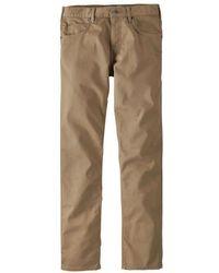 Patagonia Performance Twill Jeans Long Mojave Khaki - Natural