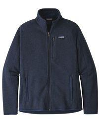 Patagonia - Better Sweater® Fleece Jacket New Navy - Lyst