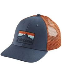 Patagonia - Line Logo Badge Lopro Trucker Hat - Lyst