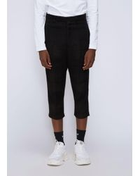 Rick Owens - Cropped Astaires Pant - Lyst