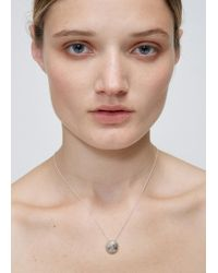 Quarry | Silver Petite Opis Necklace | Lyst