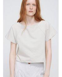 Ilana Kohn - Bone Terry Mayes Shirt - Lyst