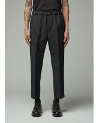 OAMC - Cropped Drawcord Pant - Lyst