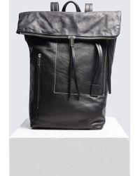 Rick Owens - Medium Duffle Backpack - Lyst