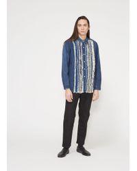 Needles - Denim Ribbon Shirt - Lyst