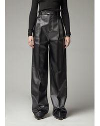 Peter Do High Waisted Trouser - Black