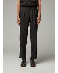 Comme des Garçons Wool Pant - Black