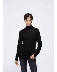 R13 - Distressed Edge Cashmere Turtleneck - Lyst