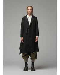 Yohji Yamamoto Drape Jacket - Black
