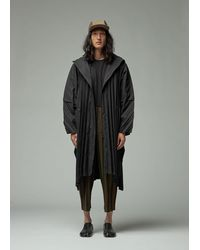 Homme Plissé Issey Miyake Edge Coat - Black