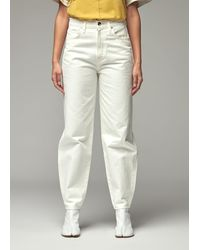 Goldsign Curved Jeanin Pearl - White