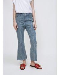 Sandy Liang - Blueberry Winkle Jeans - Lyst