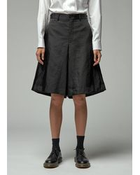 Comme des Garçons Nylon Short - Black