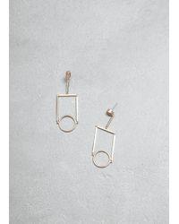 Mociun - Figure 12 Drop Earrings - Lyst