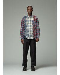Needles 7 Cuts Flannel Shirt - Multicolour