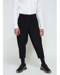 Homme Plissé Issey Miyake - Basics Wide Trouser - Lyst