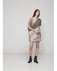 Kaarem - Angle Mini Open Back Dress - Lyst