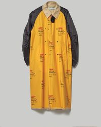 Off-White c/o Virgil Abloh Industrial Inside Out Trench Jacket Coat - Yellow