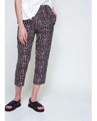 Marni - Elastic Waist Pajama Pant - Lyst