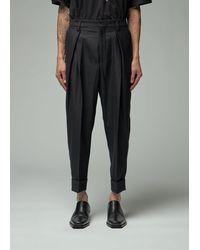 Ann Demeulemeester Trouser Trousers - Black