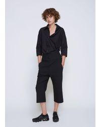 Ji Oh - Slim Straight Trouser - Lyst