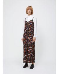 Y's Yohji Yamamoto - Black Printed K-cami Dress - Lyst