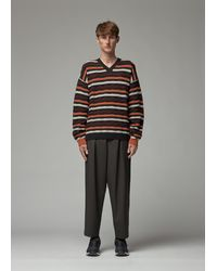 Marni - Striped V-neck Pullover - Lyst