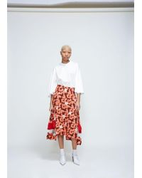 Toga | Printed Skirt | Lyst