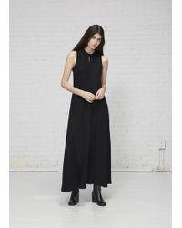 Kaarem - Calo Front Seam Sleeveless A-line Dress - Lyst