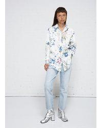 Off-White c/o Virgil Abloh Floral Basic Shirt - White