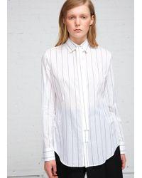Y's Yohji Yamamoto - Tie Shirt - Lyst